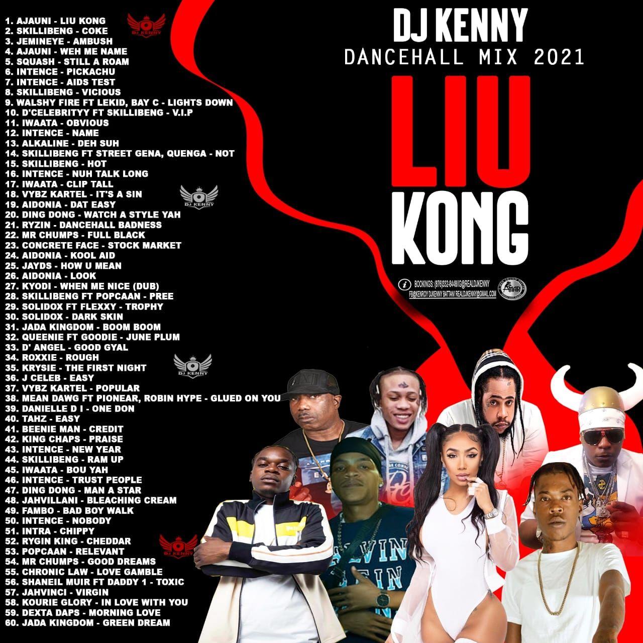 dj kenny liu kong dancehall mix